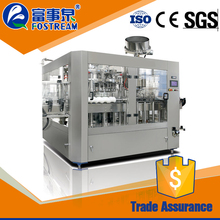 China manufacture automatic soft drink bottle water filling machine