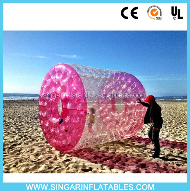 Top quality 1.0 mm 100% TPU inflatable roller ball water ball water walking balls for rental