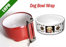 Dog Bowl Wrap(handle to handle image transfer,Click Design,easy to ues)