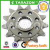 self-cleaning steel mx front sprockets for 520 chain