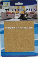 self adhesive furniture leg cork pads