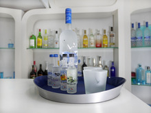 Double Wall Moulded Aluminum Foil Serving Trays For grey goose vodka
