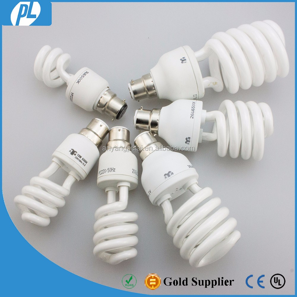 Wholesale spiral heat resistant bright effects cfl light bulbs
