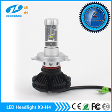 High low beam DC9V-32V led car lamp 6000lm waterproof IP67 with long lifespan led h4 motorcycle headlight