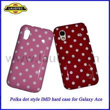 Stylish, Lovely Polka Dots design,IMD Hard Case for Samsung Galaxy Ace S5830,Hard Back Case Cover