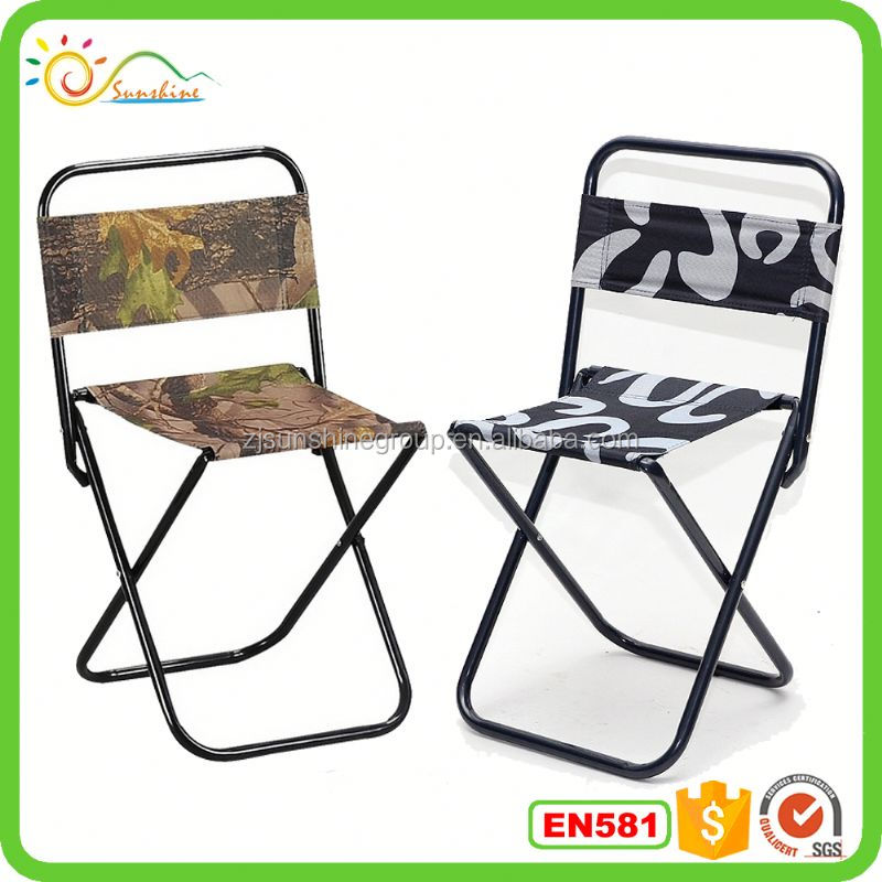 Modern promotional folding student desk chair stool