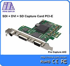 Free Shipping high quality streaming capture ps4 pro card SDI video capture card 4ch SDI400-PRO