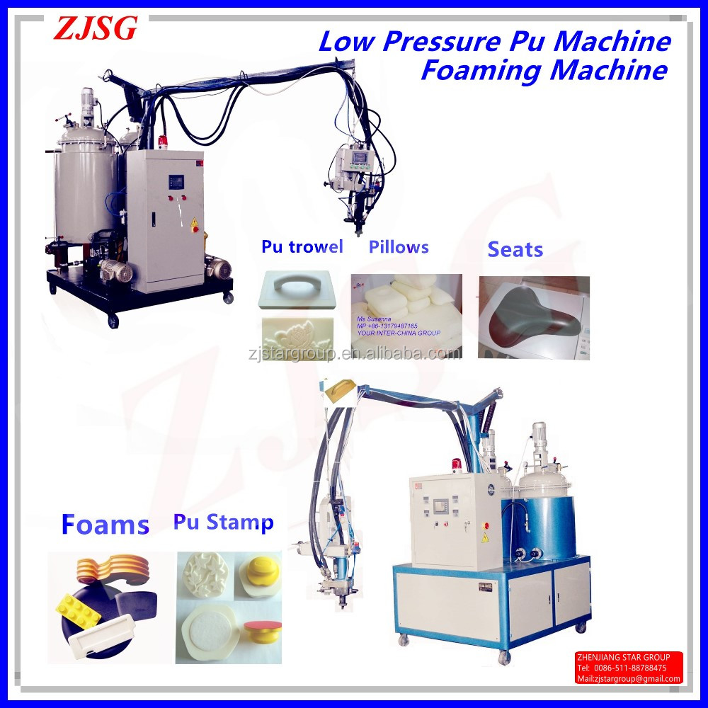 Pu Seats Foaming machine