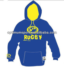 2013 Hot Sale Mens Custom Made Cheap Royal Blue hoodie Top with the Classic Kangaroo Front Pocket & Drawstrings at hood