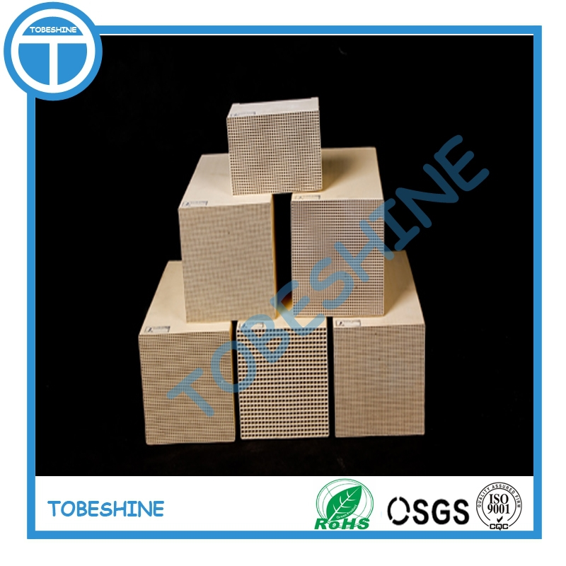 Best Honeycomb ceramic monolith catalyst support / heat thermal storage honeycomb ceramic