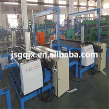 full automatic edge cutting fabric inspecting and rolling machine