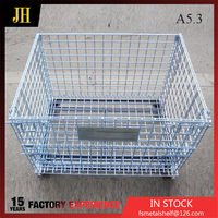 High Quality Cheap Folding Storage Cage/ Wire Mesh Container/Wire Cage
