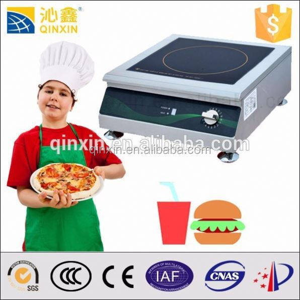 Hotel electric kitchen appliances 3.5KW chinese cooking range