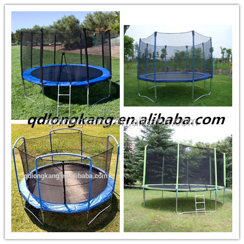 Gymnastic Trampoline 8FT 12FT 16FT For Sale/Professional Trampoline 10FT 14FT Wholesale China/Round Trampoline Bed
