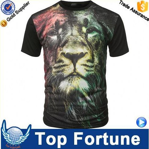 2015 Latest design unisex different color custom t shirts no minimum