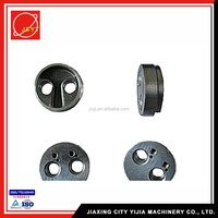 OEM Hot forging Aluminum shiny bright finish cnc machining parts