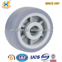 Thermoplastic Rubber TPR Industrial Cart Wheel