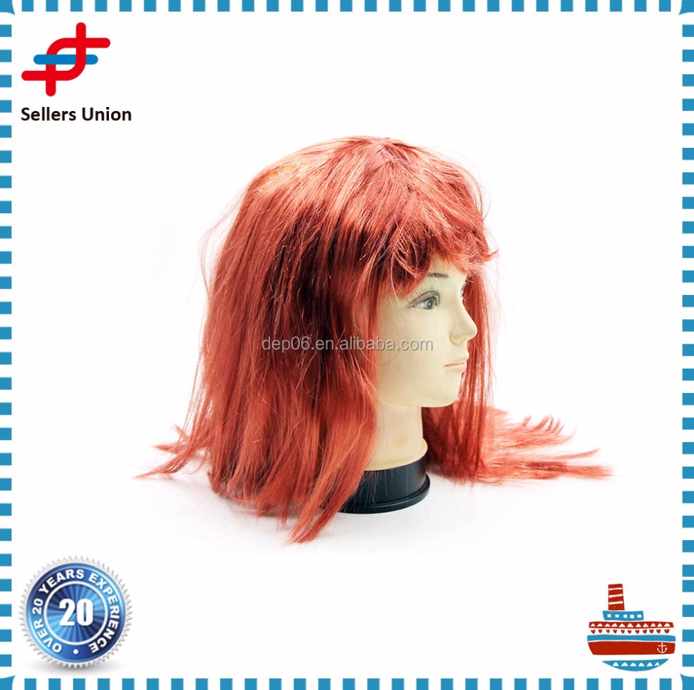 Hot Sale Synthetic long Cosplay Wigs for Festive Party wig
