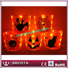 Personalized LED Lighted Halloween Bucket