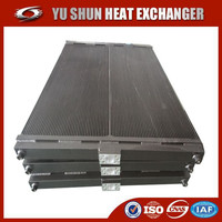 chinese manufacturer of plate fin aluminum grab oil heat exchanger/hydraulic oil cooler/ oil radiator