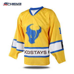 Supplier Wholesale Sublimation Reversible Hockey Shirt,Custom Ice Hockey Jersey