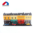 Educational diy street shop style double-deck block plastic small toy house with cars