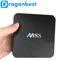 M8S Android Tv Box S812 Quad Core 2g ram 8g rom accept cusotmized logo, software etc from Dragonbest