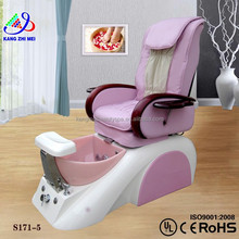Green beauty salon pedicure chair/gold seal systems pedicure chair/zero gravity pedicure massage chair KM-S171-5