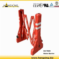 TB09 portable expanding traffic road safety flexible barrier