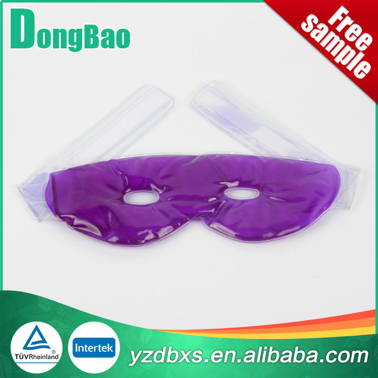cool and hot gel eye mask,custom medical eye gel mask heating pad