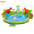 Commercial Dinosaur slide Giant Pool Inflatable Amusement Park Equipment With Pool And Slide Inflatable Hight quality Water Park