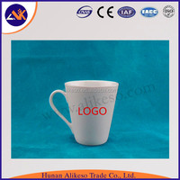 China manufacturer supply cheap ceramic mugs promotional, top sale porcelain blank white ceramic cups