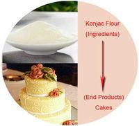 organic konjac Food & beverage food coloring powder Food & beverage for wholesales