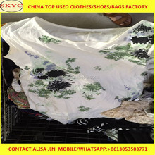 bulk second hand clothes sorted factory price summer used clothing high quality for Africa buyers