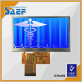 Made in China 4.3 inch lcd 4 wires resistive or capacitive touch screen panel