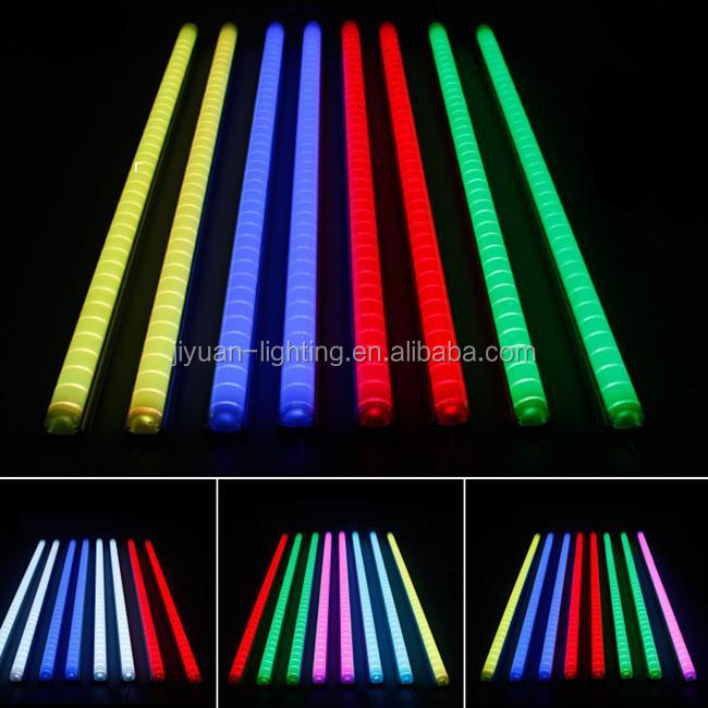 Outdoor christmas laser lights dmx rgb led tube full color 3d rgb led tube