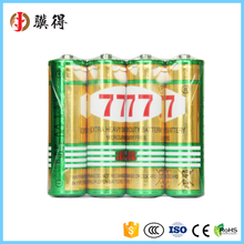 Best quality 1.5V r6p um3 aa carbon zinc battery of China