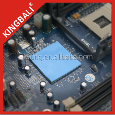 KINGBALI Silicon Rubber Insulation Thermal Interface Conducting Pad on Laptop/LCD Gap Pad