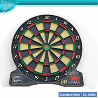Electronic Dart Board With 5 Main Games with 37 Options
