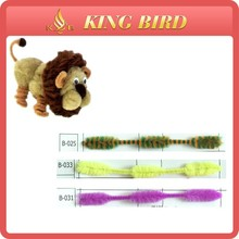 kid gift chenille stem diy chenille fabric craft with chenille yarn