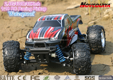 China factory supply RC Car 4WD Radio Controlled 1/18th Scale RC Truck with electric Power Off Road Monster RC Pickup Truck