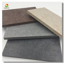 Through Colored High Density Waterproof Fiber Cement Decorative Wall Board