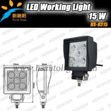 "LED Work Light 4"" Inch 15W 12V 24V Spot Flood Lamp for Motorcycle Tractor Truck Trailer SUV Off roads auto headlights"