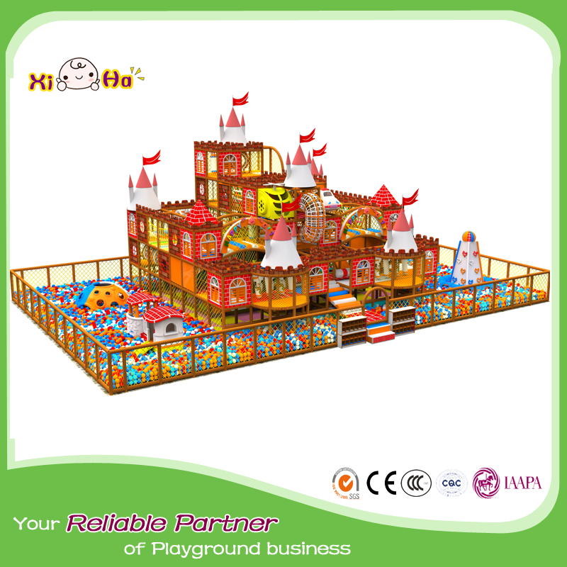 Cheap amusement center indoor playground equipment machine