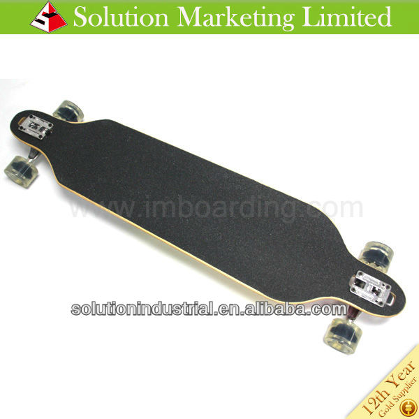 High Quality Canadian Maple Blank Longboard Deck