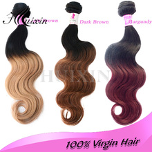 Alibaba china wholesale ombre hair extension, body wave brazilian ombre hair weaves,afro kinky curly virgin hair ombre weave ext