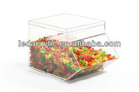 8-1/4 x 8-1/2 x 13-Inch Clear Acrylic Stackable Candy Bins Hold 1.5 Gallons