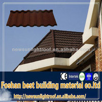 magnesium oxide roof tile/high quality stone coated metal asphalt roof shingles/stone coated metal versatile roof