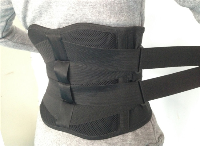 Compression Pain Relief Double Pull Lumbar Brace Lower Waist Support Belt