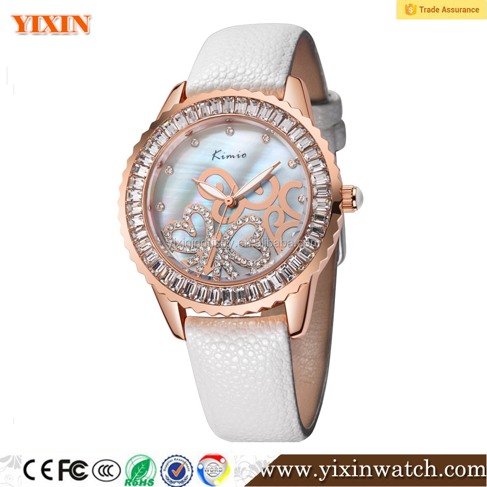 New design MOP dial beautiful lady's watch wholesale